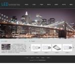 灯具照明公司网站模板