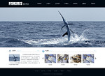 渔业公司网站(全屏)模板