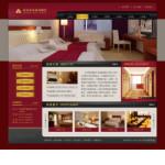 宾馆酒店网站模板