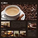 咖啡厅网站模板