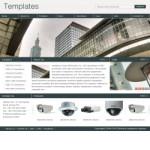 电子产品公司网站(英文)模板