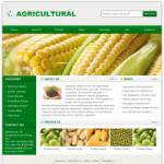 农业公司网站(英文)模板