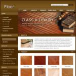地板公司网站(英文)模板