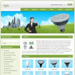绿色照明公司网站(英文)模板