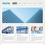 建材公司网站(英文)模板