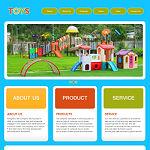 玩具公司网站(英文)模板