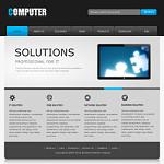 软件企业网站(英文)模板